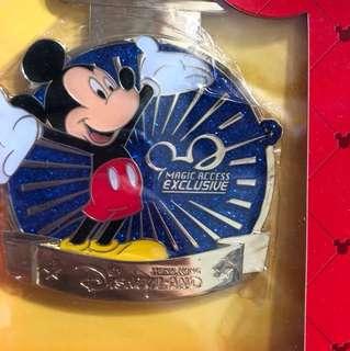 迪士尼十次進園紀念徽章