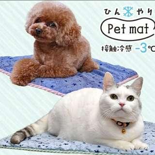 日本直送 最新款 (約減3°c)  寵物貓狗冷感涼墊  🐶🐱🐗🐇🐿