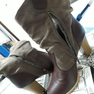 Brown Ankle Boots 37
