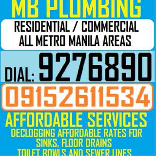 TUBERO PLUMBING AND ELECTRICAL HOME REPAIRS HOME IMPROVEMENT ALL METRO MANILA