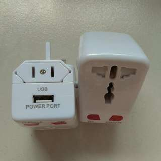 Travel Adapter With USB