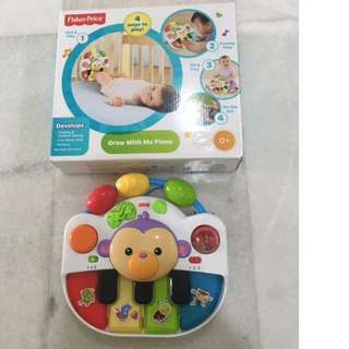 Fisher Price Grow with Me Piano Toy
