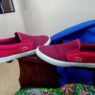 Lacoste gazon sport shoes size 10US.