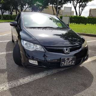 Honda Civic For Rent