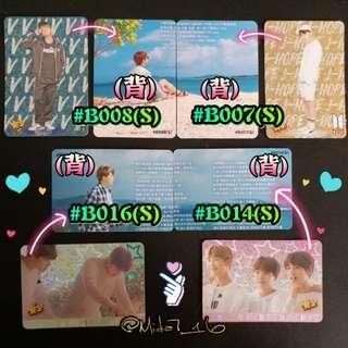 BTS - 專輯卡/YES卡( 閃卡 )