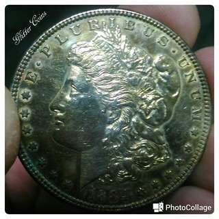 Atique: 1884p Morgan Dollar