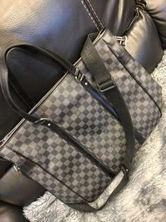 Leather LV bag
