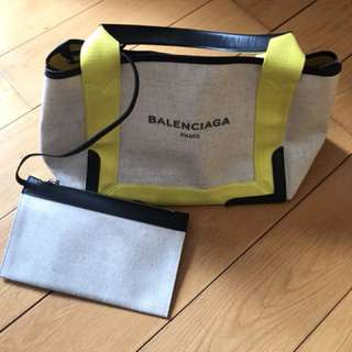 Balenziaga canvas bag
