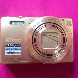 For Sale Nikon COOLPIX S7000 Gold