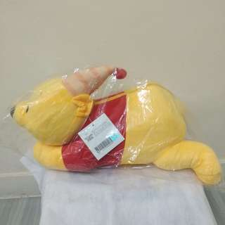 小熊維尼公仔連毛毯套裝 Winnie the Pooh Soft Toy with Throw set