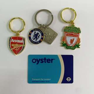 London Collection ( EPL keyring + oyster card)