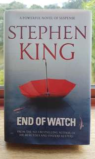 End of Watch by Stephen King (Hard Cover)