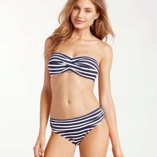 條紋比基尼👙🔥✨現貨💖Striped bikini top