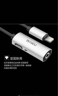 Wiwu LT01 Lightning 3.5mm jack for iphone 7 8 10 pouch included
