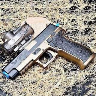 MAINAN ANAK PISTOL SIG SAUER P226 WATER GUN GELL ELEKTRIK