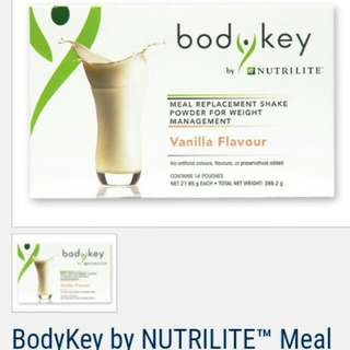 BodyKey Meal Replacement Shake (Vanilla Flavor)