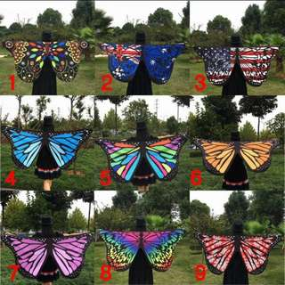 Butterfly Wings Scarf Shawl