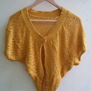 Knit Outer Yellow