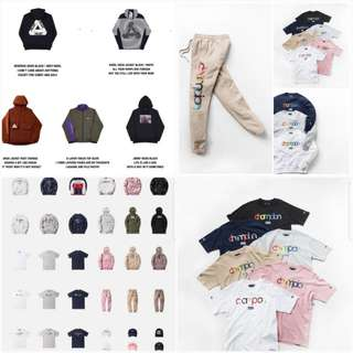 Kith and Palace Preorder