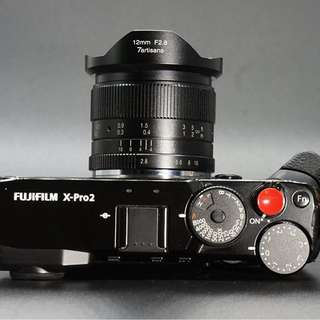 7artisans 12mm f2.8 for Fuji X mount New