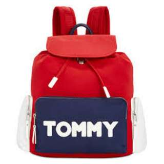 Tommy Hilfiger Logo Backpack 背囊 bag 背包 袋