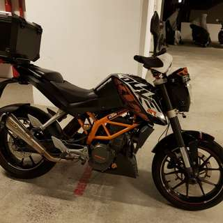 2013 KTM DUKE 200 ABS For Sale(No Top Case)