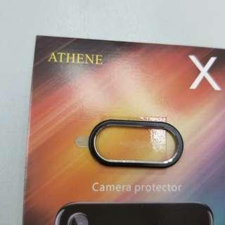 Iphone X 黑色鏡頭保護框 camera protector black