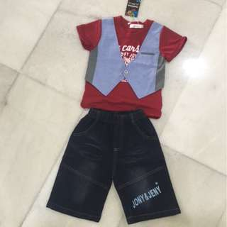 Brand New Boy Outfit Set