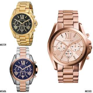 🆕Michael Kors Bradshaw Stainless Steel Watches