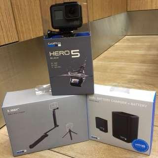 GoPro Hero 5 set