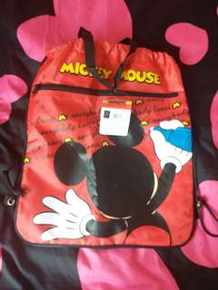 mickey mouse Drawstring bag