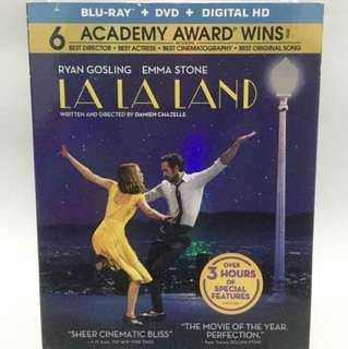 Bluray Original La La Land Import US Segel