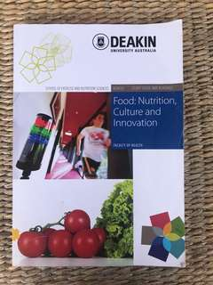 FOOD: nutrition culture and innovation
