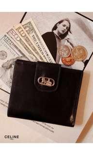 Vintage Celine wallet rare in horse buckle