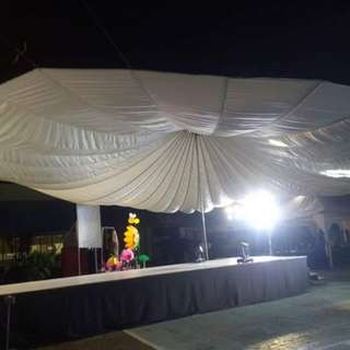 Parachute Tents for Rent
