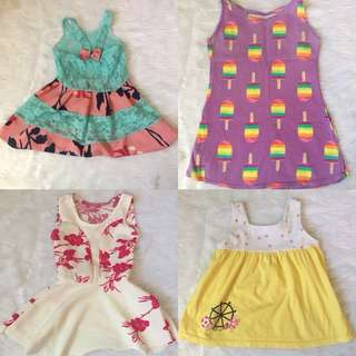 Assorted Dresses 9mos-2yrs old
