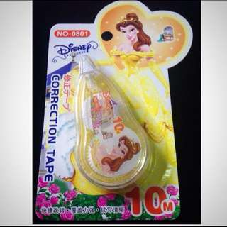Beauty & The Beast Belle Correction Tape BNIP!!