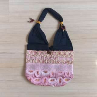 New pink shoulder bag