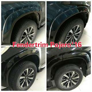 Ready over fender pajero 2016