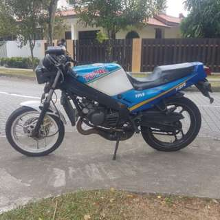 Yamaha TZR 125, Come with Nice Number