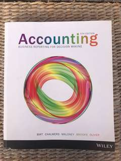 Accounting reporting for decision making