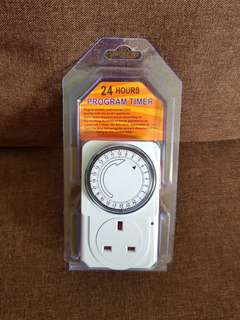 New 24 Hours Mechanical  Programmable Timer