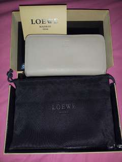 Loewe long zippy wallet made in spain