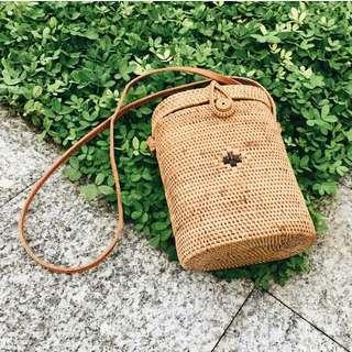 Libra | Rattan bag