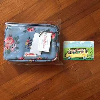 Bnwt Cath Kidston small zipper purse
