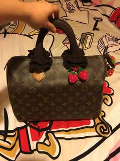 Authentic Vintage LV Speedy 30