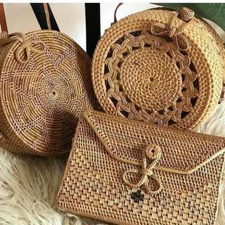 Rattan bags AVAILABLE NEXTWEEK!!!