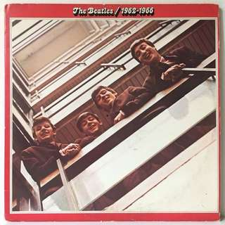 The Beatles ‎– 1962-1966 (1973 USA Original - Winchester Pressing - Vinyl is Excellent)
