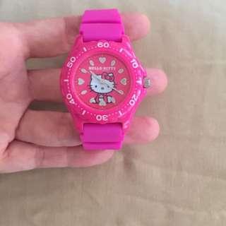 CITIZEN Q&Q Hello Kitty watch pink