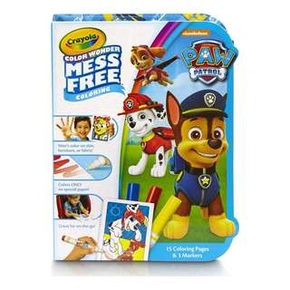 [BN} Crayola Color Wonder, Mess Free, On the Go colouring book, Paw Patrol